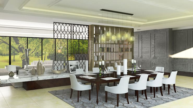 classic Dining room by SAE Studio (PT. Shiva Ardhyanesha Estetika)
