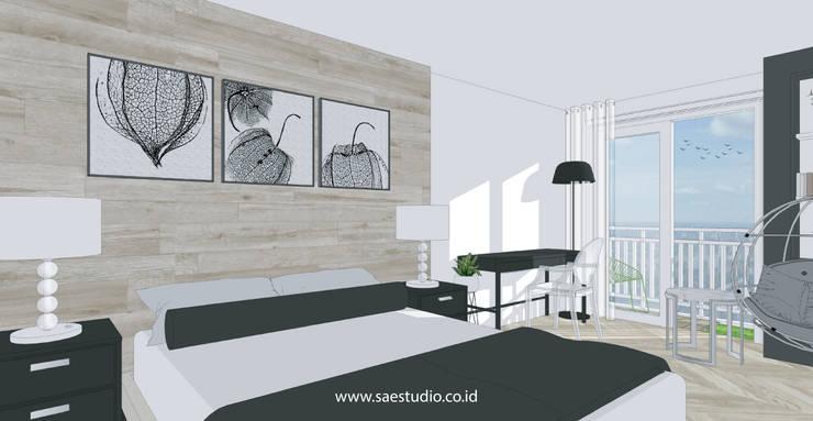 Bedroom by SAE Studio (PT. Shiva Ardhyanesha Estetika)