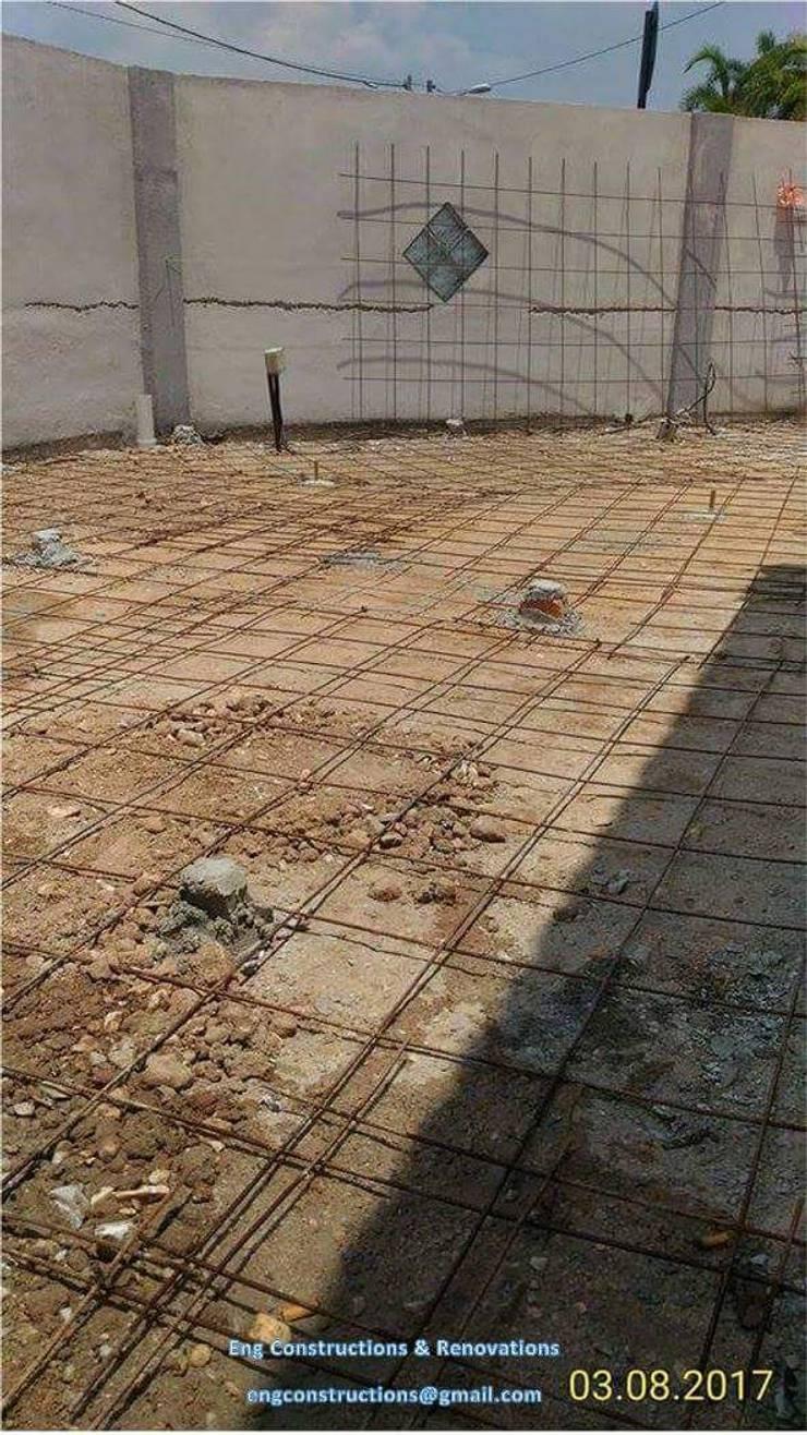 Outdoor Tiling:  Floors by Sam Contractors Ipoh, Asian Concrete