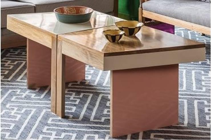 GEMELA COLOR MODELO B : Comedor de estilo  por OCHOINFINITO Mobiliario - Interiorismo