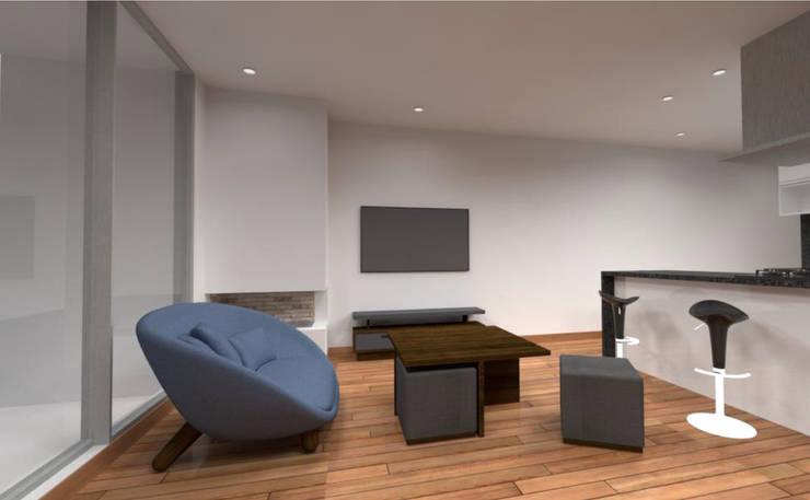 Diseño interior:  de estilo  por MSA Arquitectos