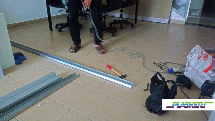 Bước 3: Lắp đặt khung xương sắt U:   by Picomat Sài Gòn