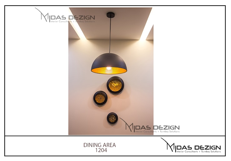 Mr. Sahil Sarbai: asian Dining room by Midas Dezign