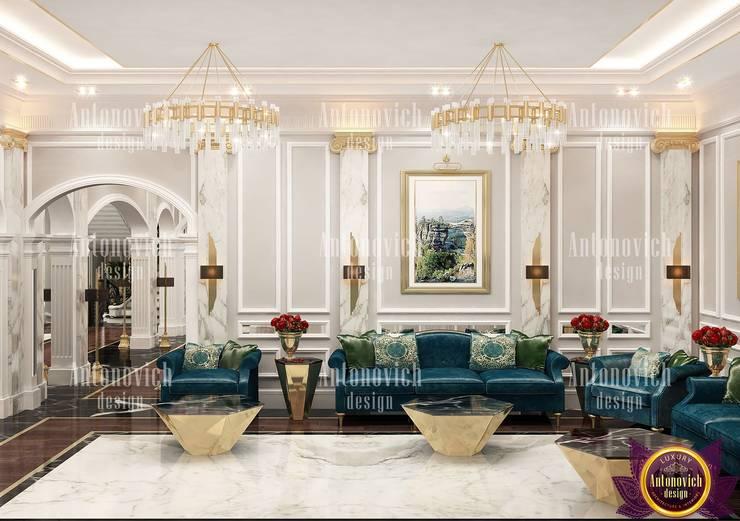 Salones de estilo  de Luxury Antonovich Design