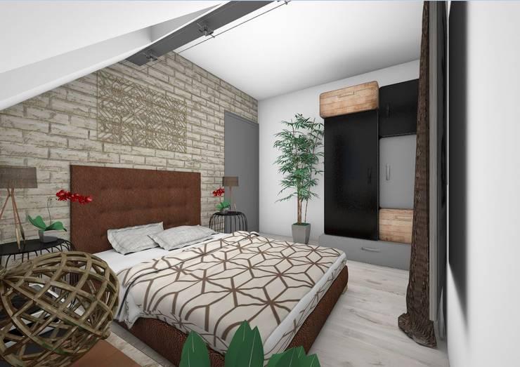 Chambre: Chambre de style  par Crhome Design,