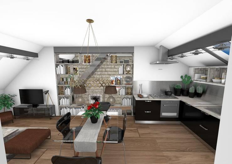 Salle à manger: Salle à manger de style  par Crhome Design,