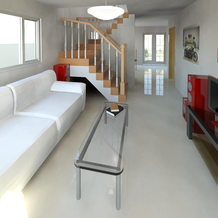 Salas / recibidores de estilo  por Cosmoservicios SAS