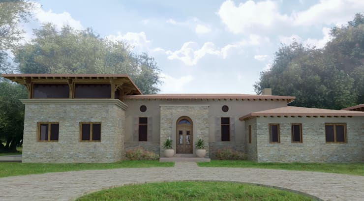 Rumah oleh Azcona Vega Arquitectos, Country