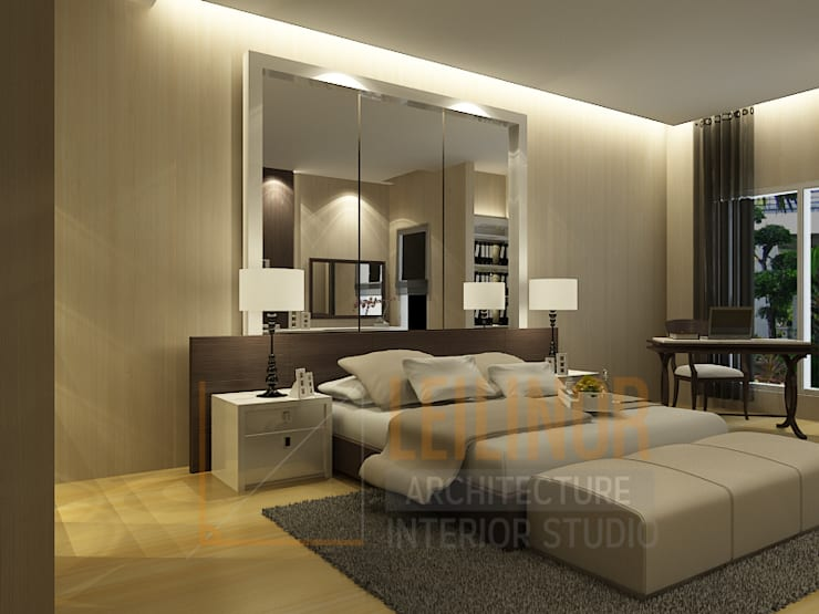 classic Bedroom by CV Leilinor Architect