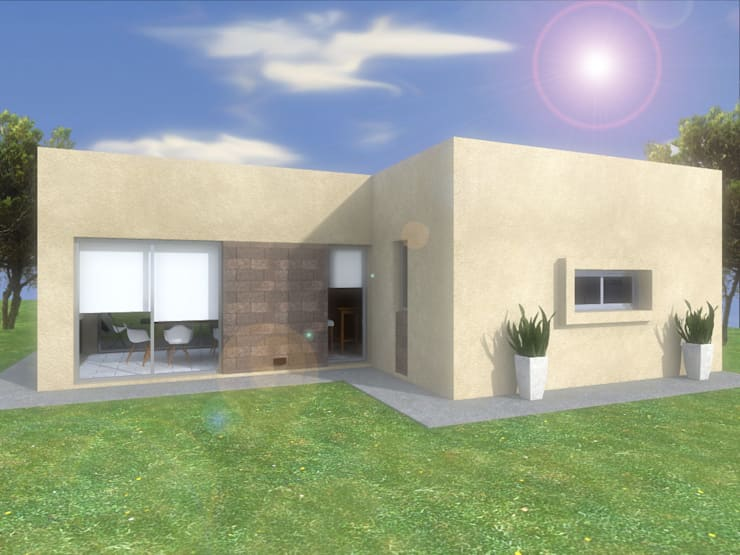 Casa [CM]:  de estilo  por nnarq,