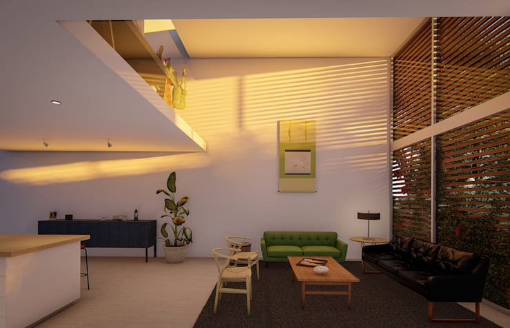 Fort Lauderdale: modern Media room by Fernandez Architecture