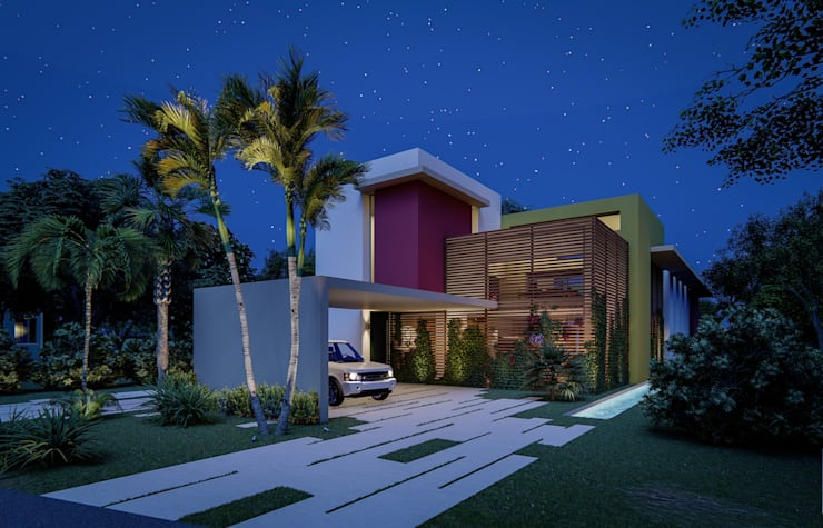 Fort Lauderdale: modern Houses by Fernandez Architecture