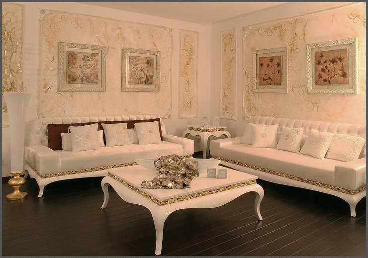 Luna Tarz – salon takımı: klasik tarz tarz Oturma Odası