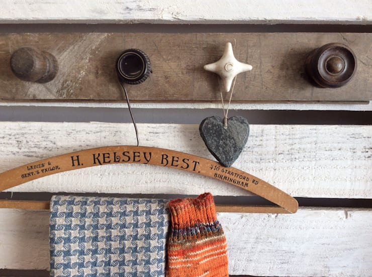 Up-cycled Hook Rack:  Household by Rural Retro