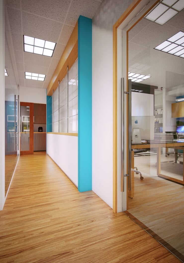 New ITFC Interior Office:  Offices & stores by Ar. Kristoffer D. Aquino