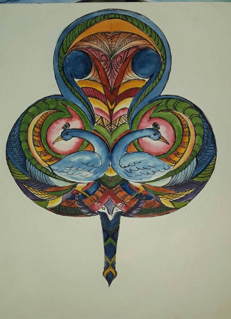 Hand Fan: asian  by Indian Art Ideas,Asian