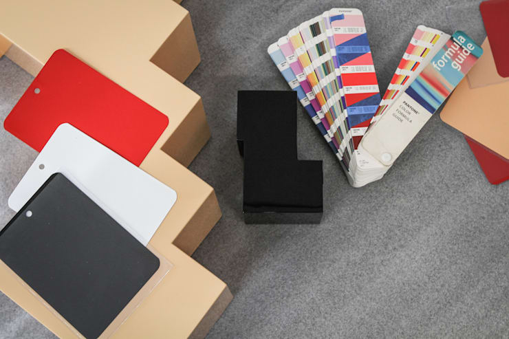 Tests couleurs: Art de style  par ENZYME Design, Objets Extraordinaires,