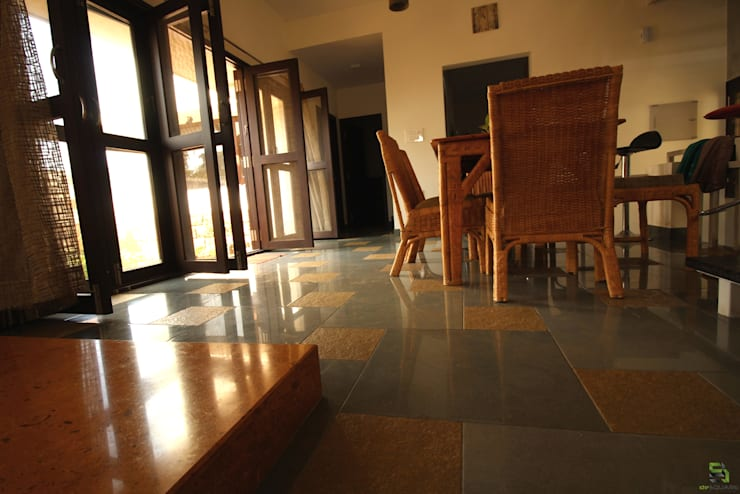 DINING:  Doors by de square,Rustic