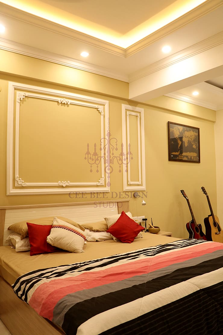 Dormitorios de estilo rural de Cee Bee Design Studio Rural