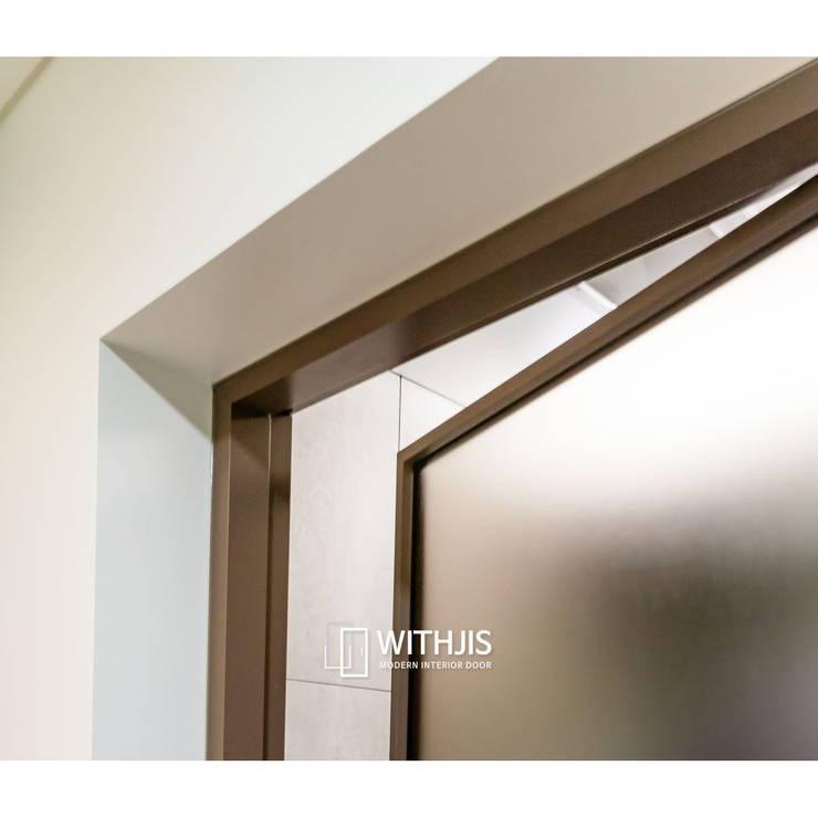 알루미늄 유리 문: WITHJIS(위드지스)의  문