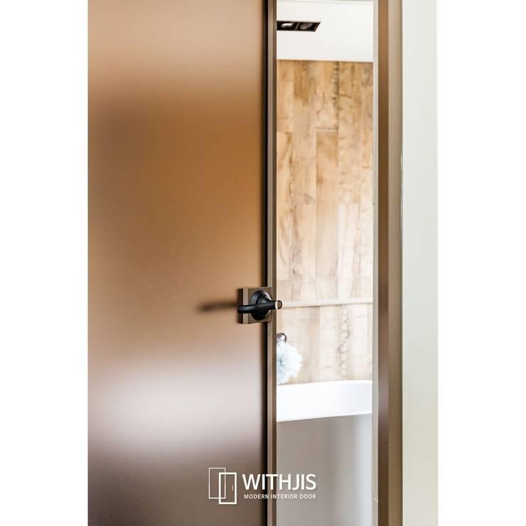 고급 인테리어 도어: WITHJIS(위드지스)의  문