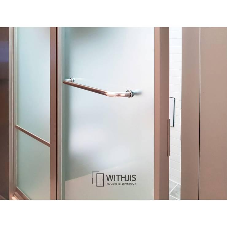 유리 도어: WITHJIS(위드지스)의  문