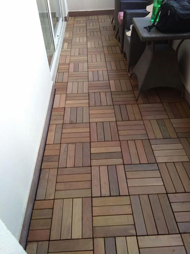 IPE Wood for Decking:  Single family home by Opulo India,Rustic Wood Wood effect