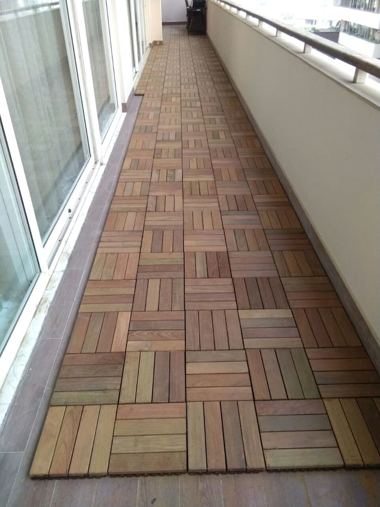 Exterior Wood - IPE:  Floors by Opulo India,Country Wood Wood effect