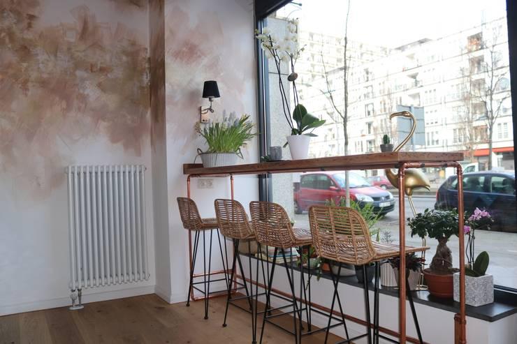 custom made wall art bronze gold von Ivy's Design - Interior Designer aus Berlin Klassisch Silber/Gold