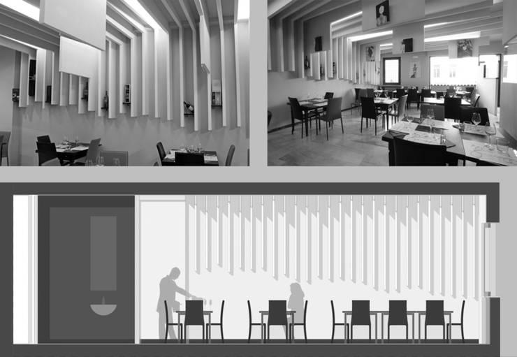 Văn phòng & cửa hàng theo Studio di Architettura IATTONI, Hiện đại