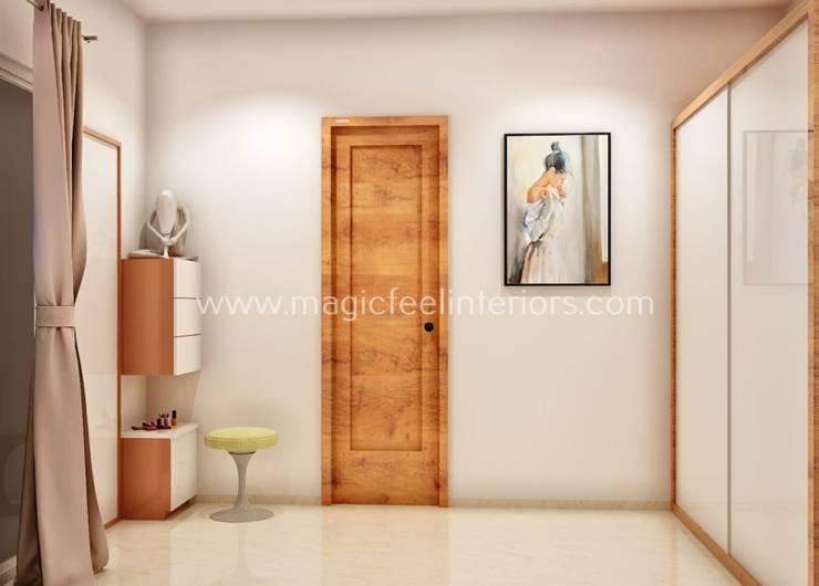 Bedroom:  Bedroom by Magic Feel Interiors,Modern
