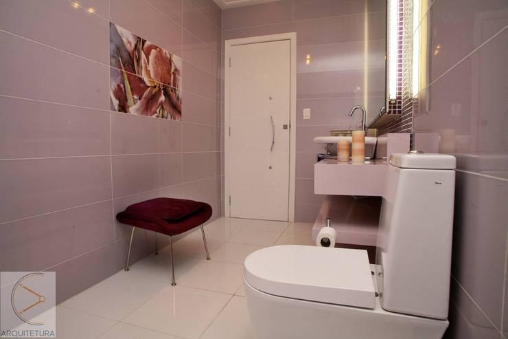 Banheiro: Banheiros  por Cassia Espada Arquitetura