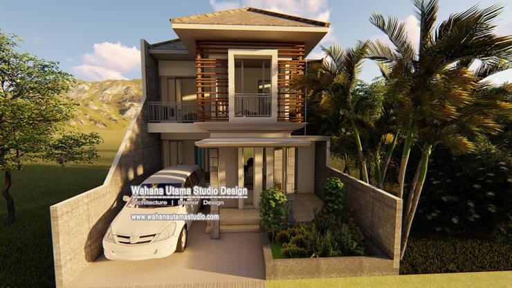 tampak atas:   by Wahana Utama Studio