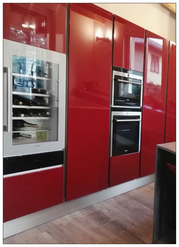 Cucina Rossa e Nera von Formarredo Due design 1967 | homify