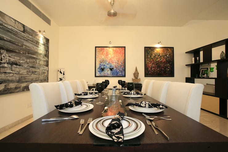 Interior:  Dining room by The Couple Room Project,Modern