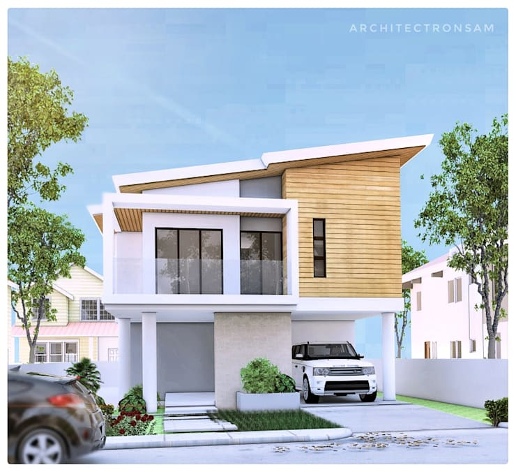 Two Storey Residential:  Single family home by ezpaze design+build