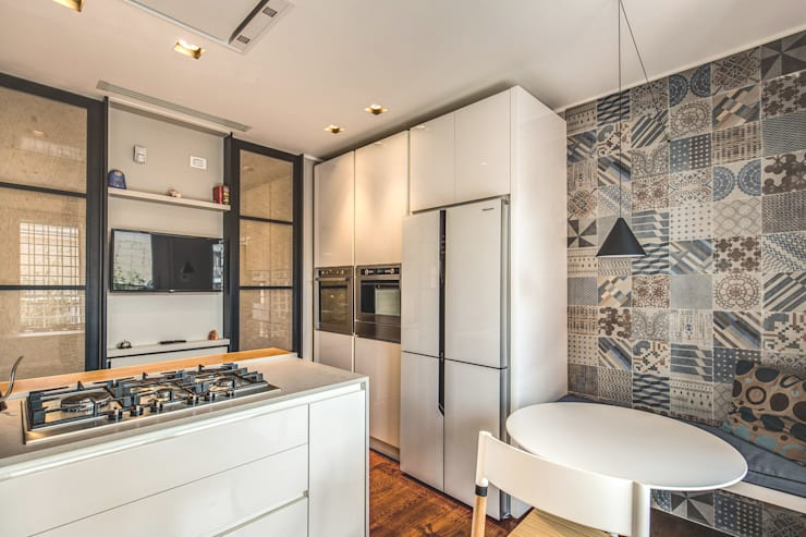 廚房 by MOB ARCHITECTS, 現代風