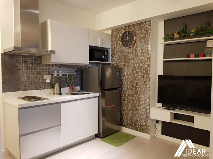 Sofisticato at Azure Urban Residences, Paranaque City:  Kitchen by Idear Architectural Design Consultancy