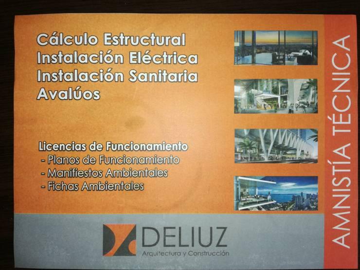 REGULARIZACION DE TERENOS Y CONSTRUCCIONES AMNISTIA 2018: Casas de estilo  por ESTUDIO DE ARQUITECTURA 'DELIUZ',