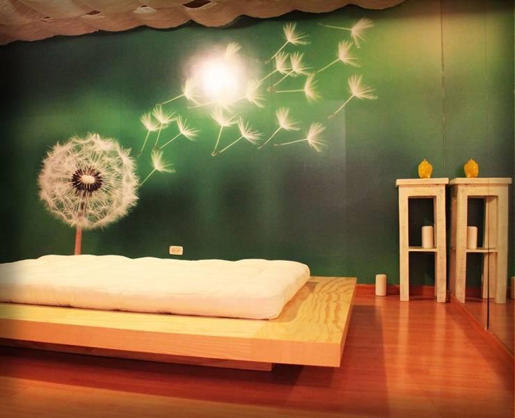Cabina Aire: Spa de estilo  por Dharma Arquitectura