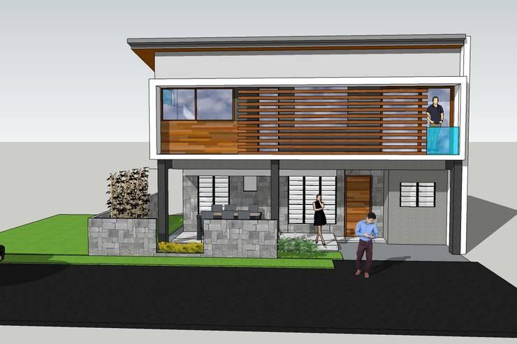 Residential Renovation:   by Teves.Arkitectos