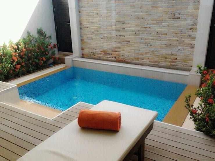 FRP Plung Pool:  Garden Pool by Scube Creations,Classic