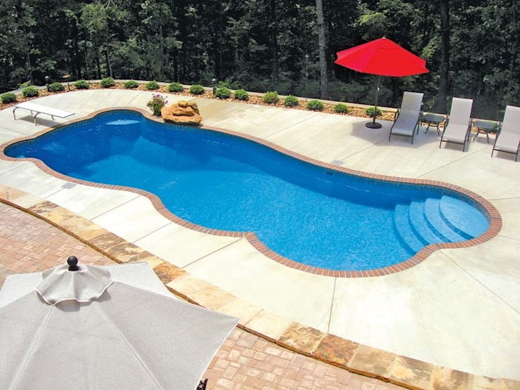 FRP Swimming Pool:  Pool by Scube Creations,Tropical