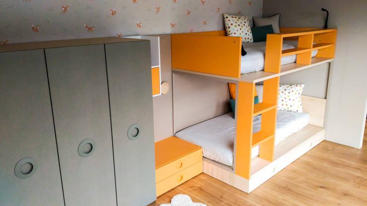 Letti A Castello Bassi Per Bambini.Cameretta Per Bambini Con Castello Flat Di Spaziojunior Homify