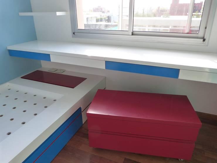 Habitaciones para niños de estilo  por Romina Sirianni