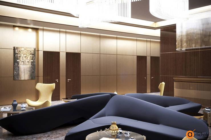 Oficinas y Tiendas de estilo  de Art-i-Chok, Moderno