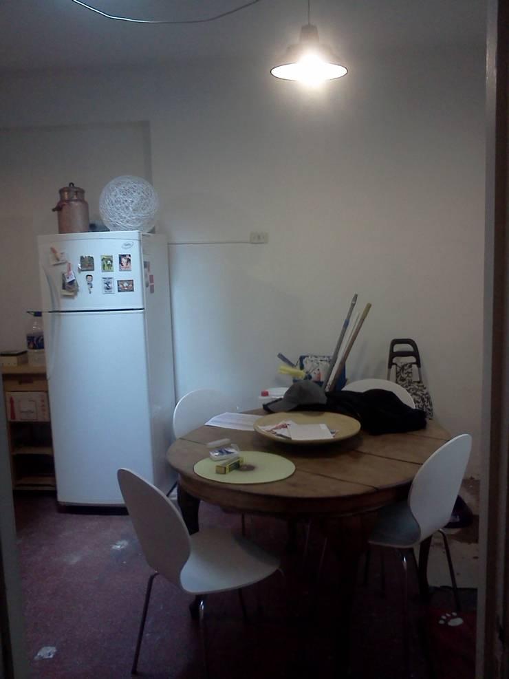 Antes Comedor:  de estilo  por OOST / Sabrina Gillio