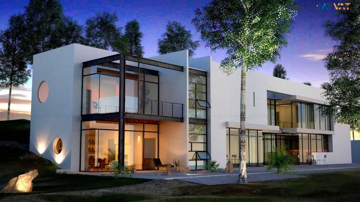 3D Exterior Home Design:   by Rayvat Rendering Studio
