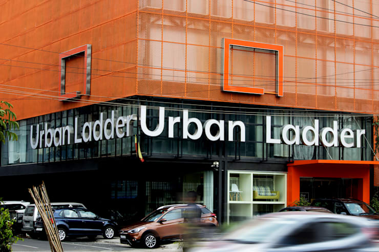 Urban ladder:  Commercial Spaces by D'insignia Arcitects,Industrial Metal