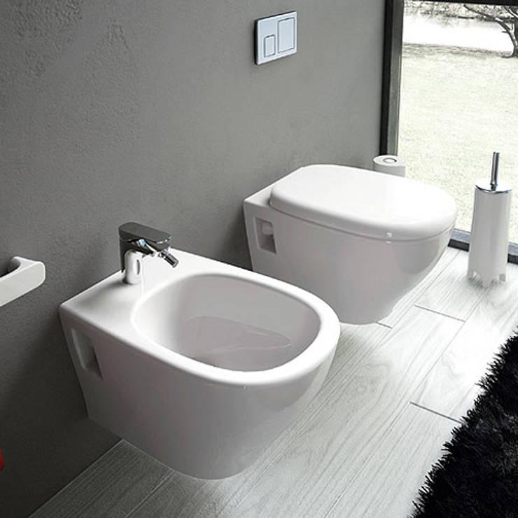 Jo Bagno It Arredo Bagno E Sanitari In Ceramica.Sanitari Bagno Moderni Sospesi Ten 45x36 Di Jo Bagno It Homify